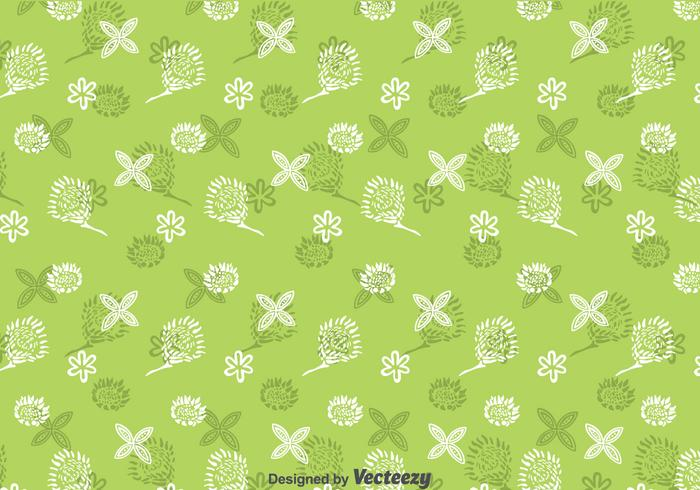 Protea Flowers Pattern Background