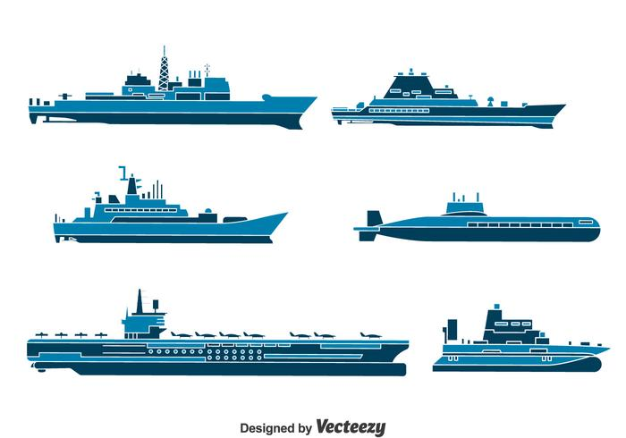 Water Transport Collection Vector