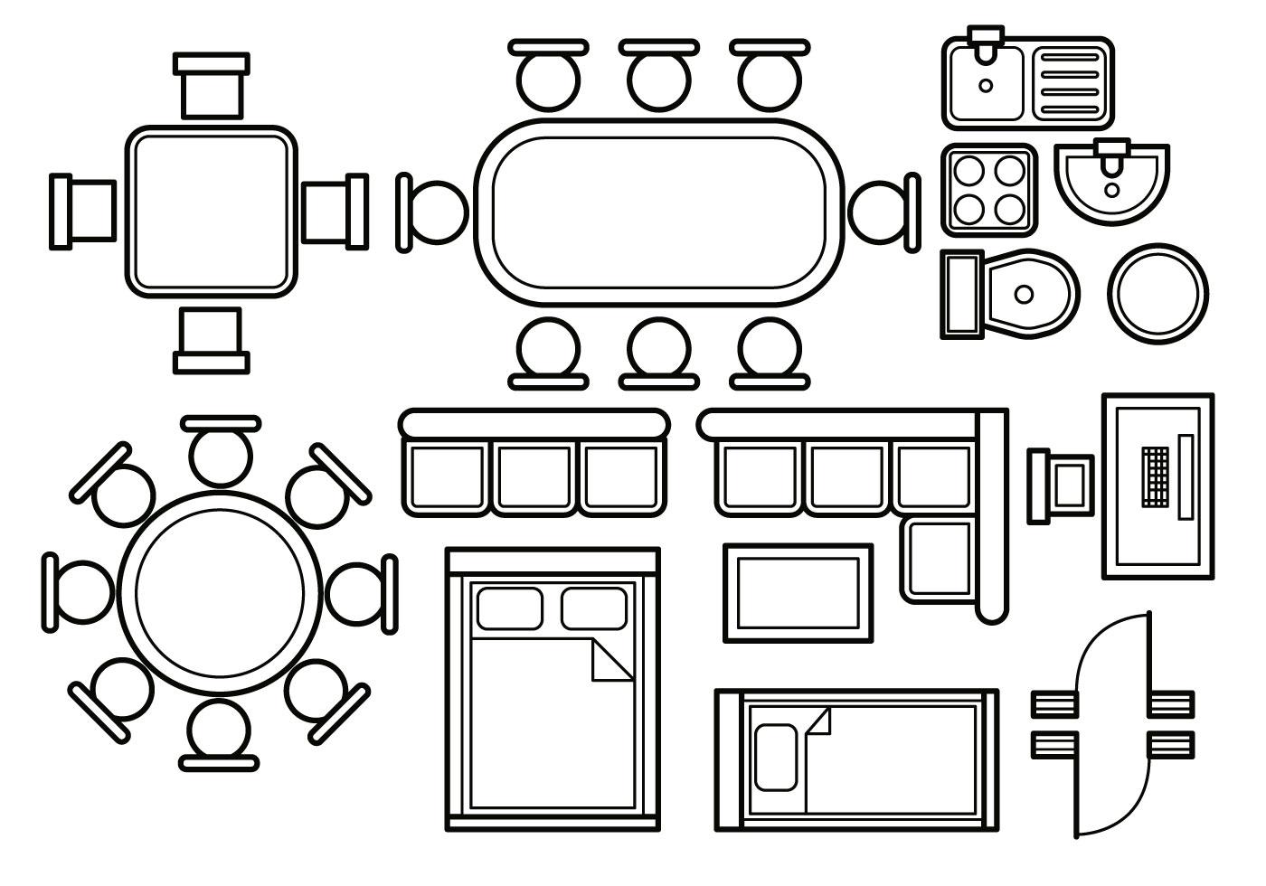 Floor plan vector - Download Free Vectors, Clipart ...