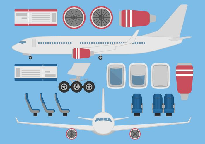 Aircraft Vector Set