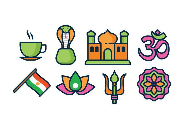 Kostenlose Indien Icons