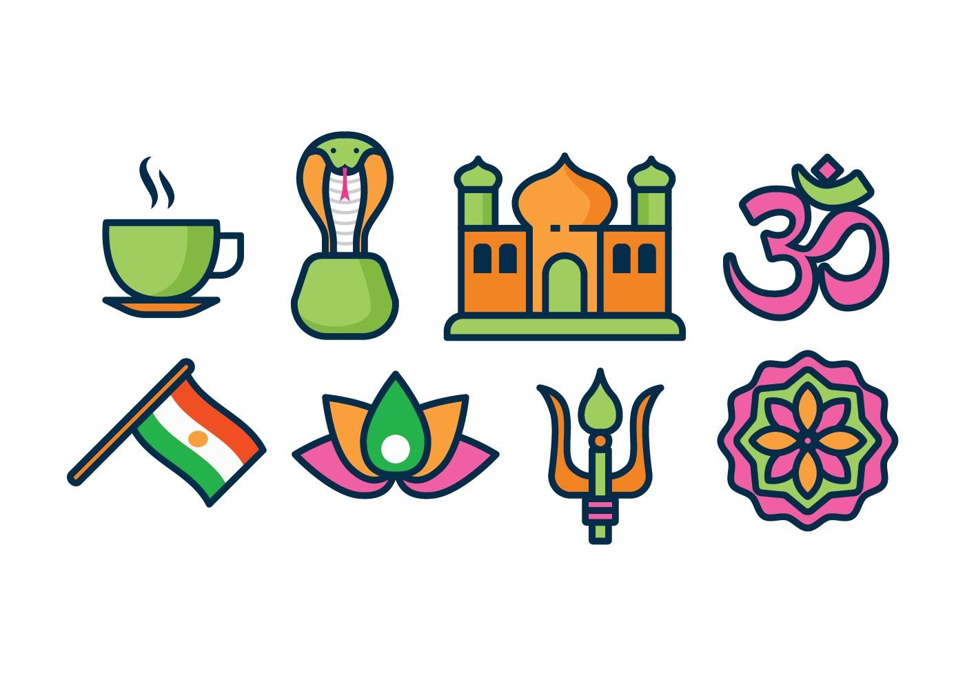 Картинки с символом индии