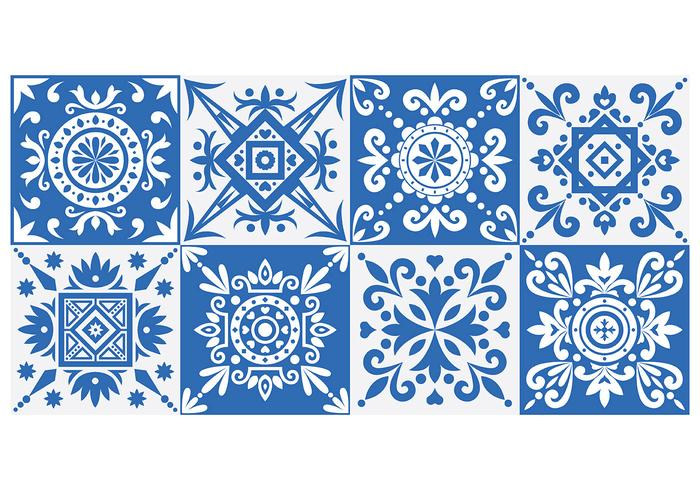 Azulejo Patterns vector