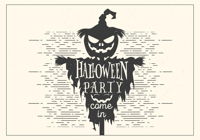 Dark Halloween Party Vector