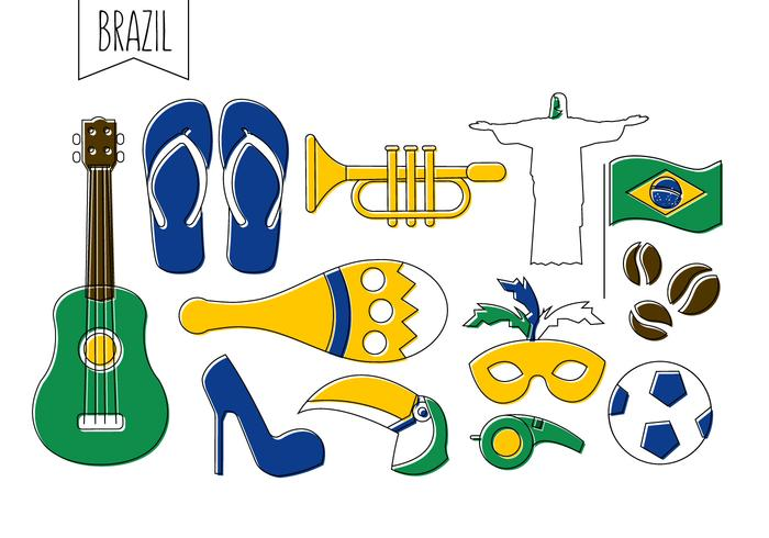 Free Brazilian Vector Icons
