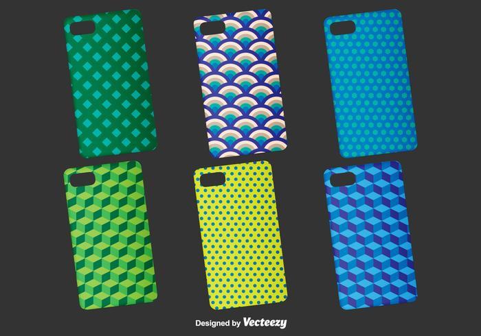 Geometric Phone Cases Vector Template