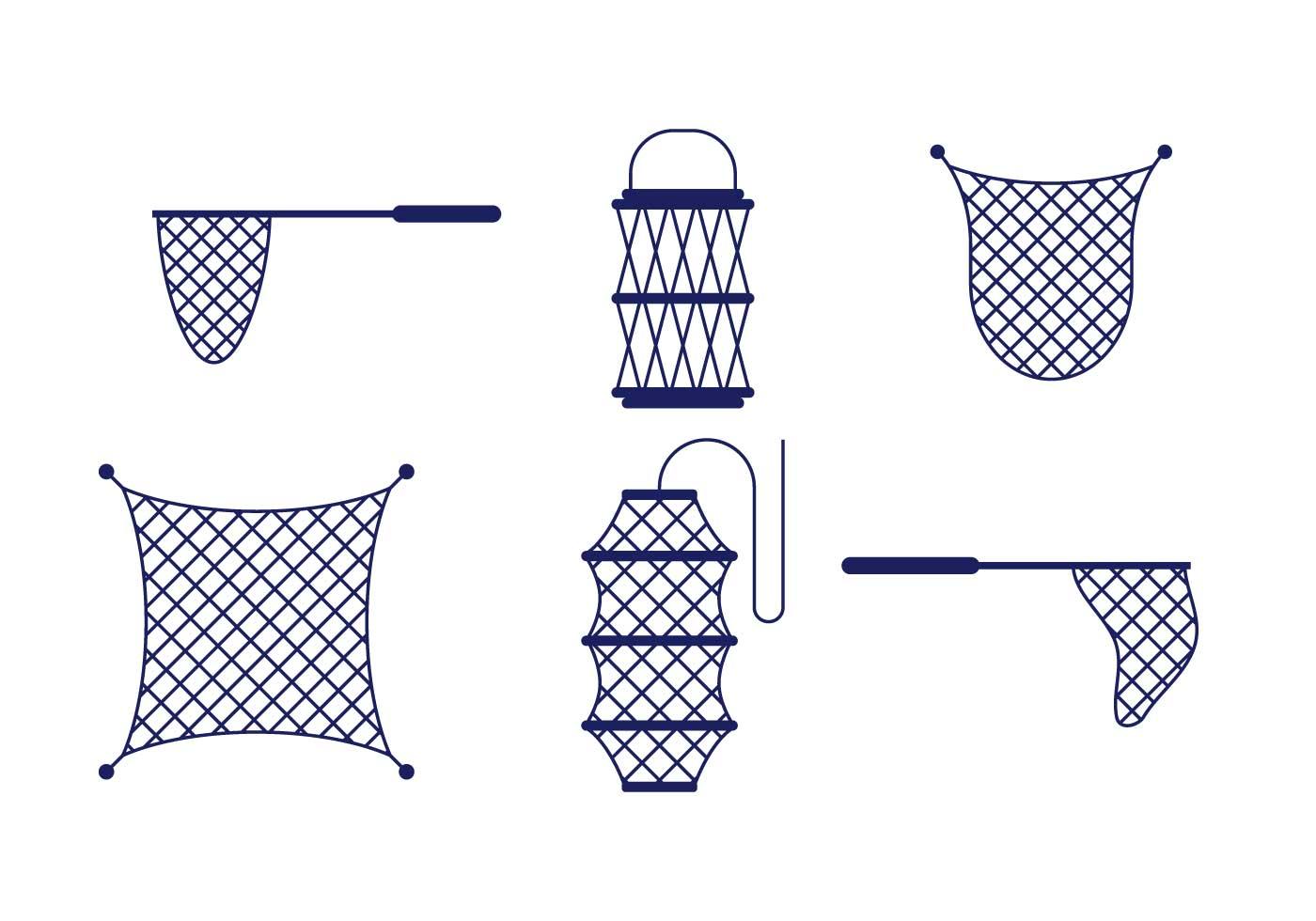 fishing net vector -#main