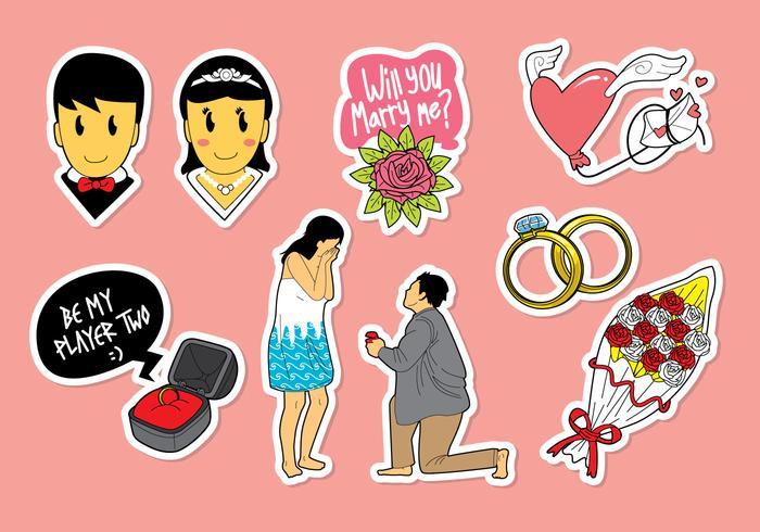 Marry Me Icon Vectors