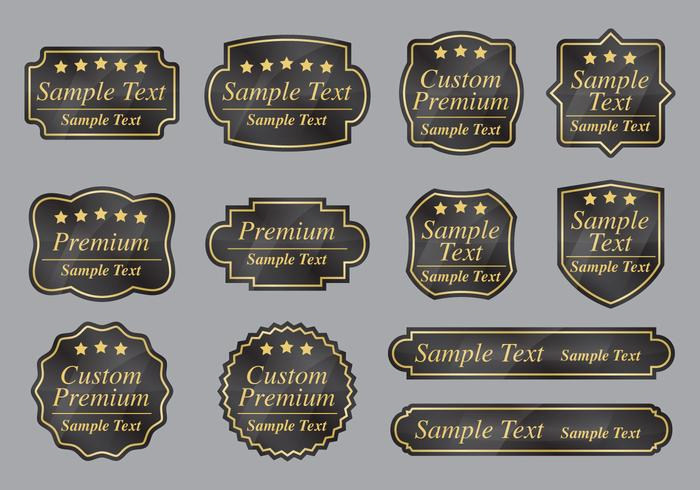 Custom Premium Labels