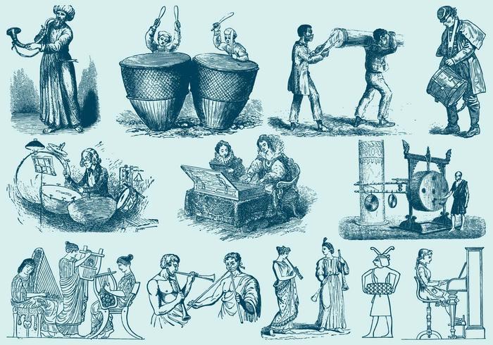 Musicians Illustrations