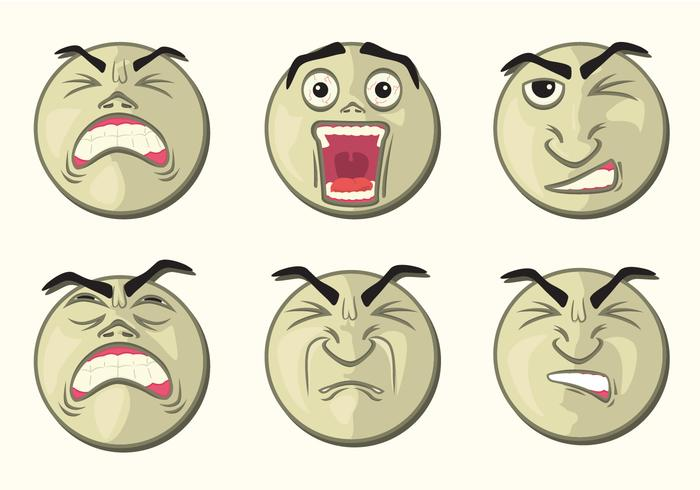 Rounded Affliction Faces