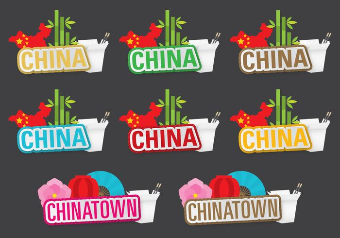 Titres de Chine et de Chinatown