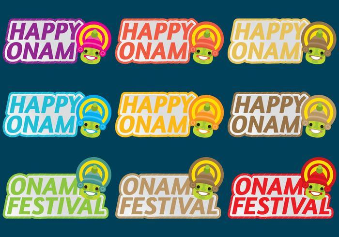 Onam Titles