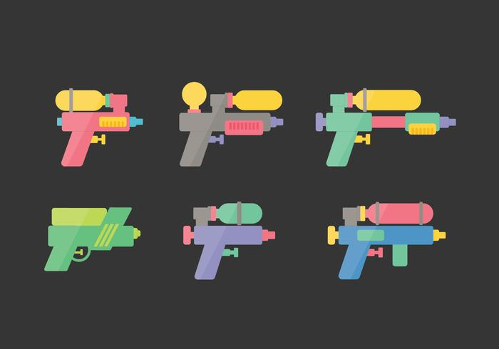 Songkran Vector Illustrations