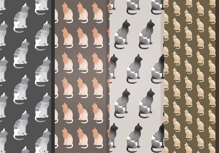 Vector Cat Patterns
