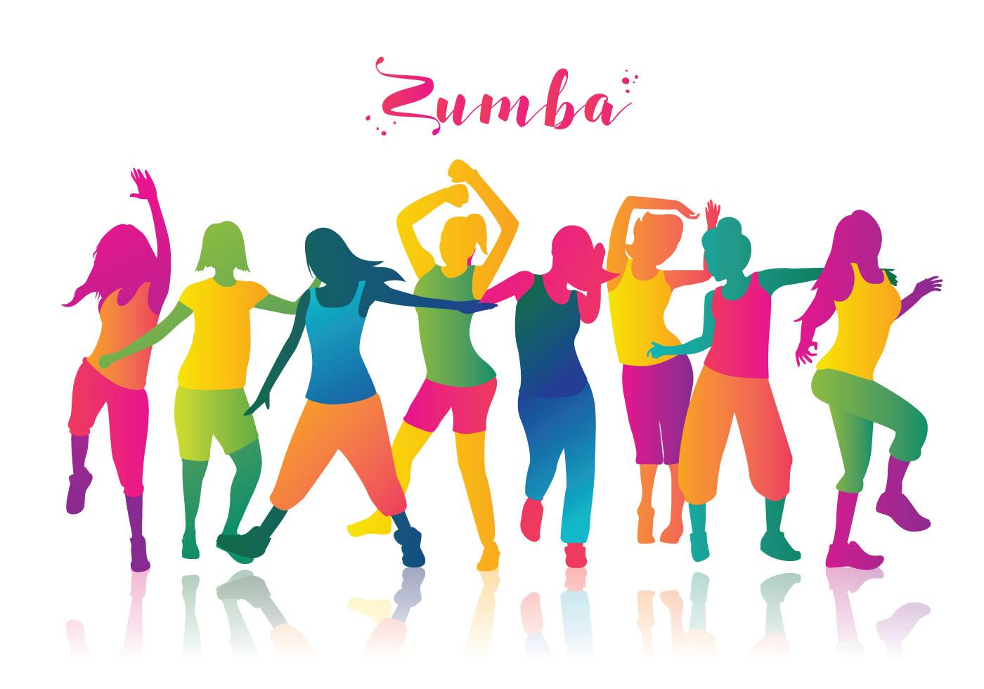 Zumba Dancers Vector libre - Descargue Gráficos y Vectores ...