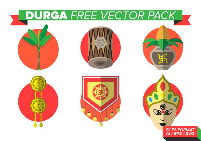 Durga Free Vector Pack