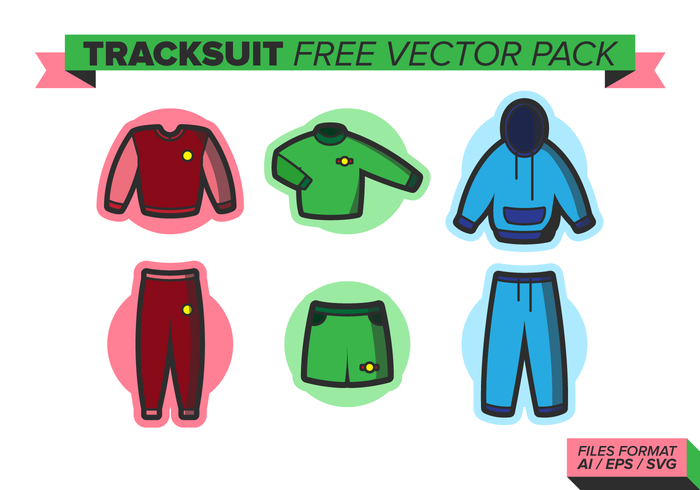 Tracksuit Free Vector Pack