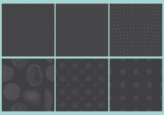 Dark Crosshatch Patterns
