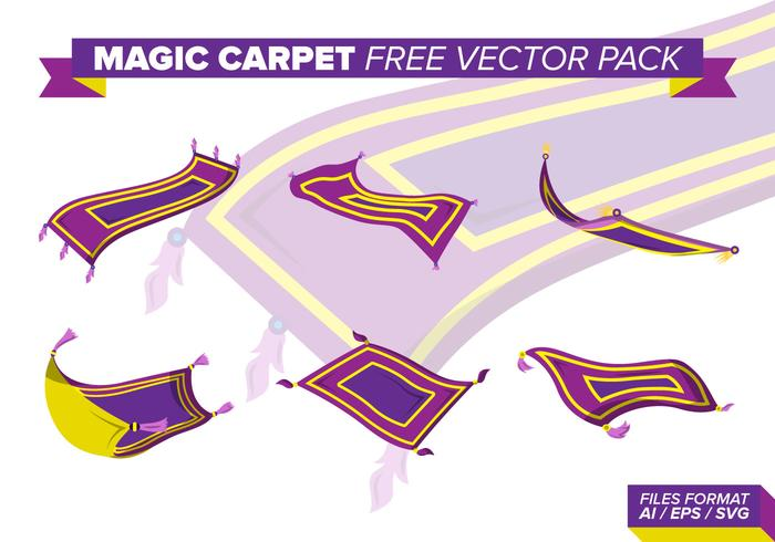 Pack de vecteur gratuit Magic Carpet