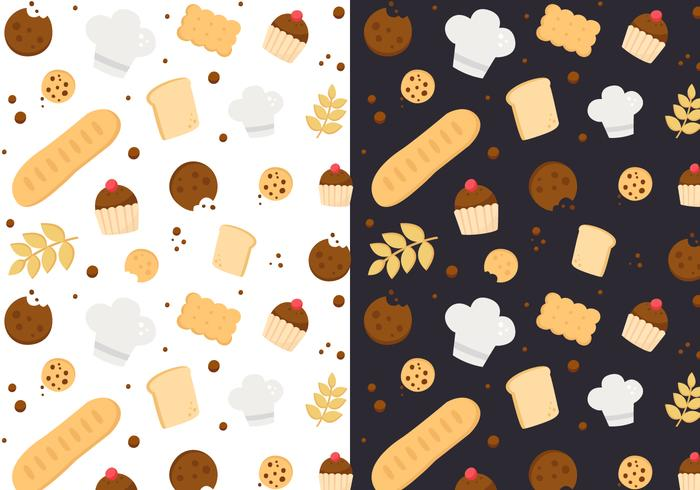 Free Bakery Pattern Vector