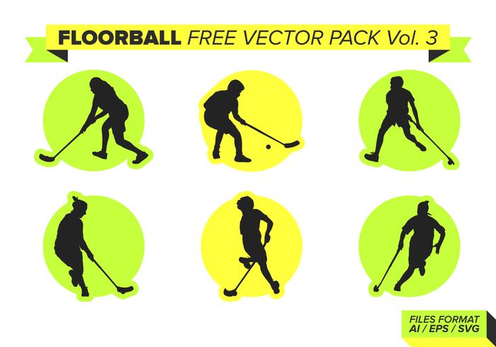 Floorball Free Vector Pack Vol. 3