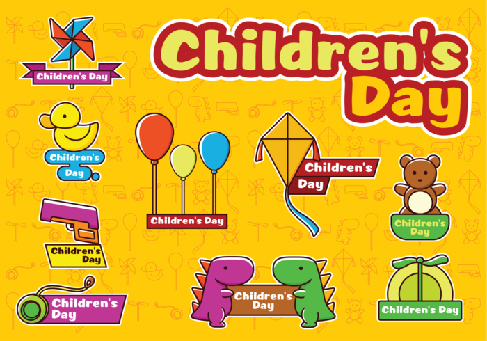 Happy Children's Day Vectors