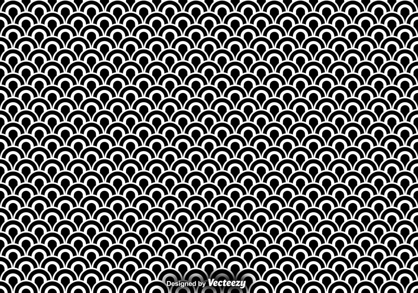 Vector Seamless Pattern Of Fish Scales Download Free
