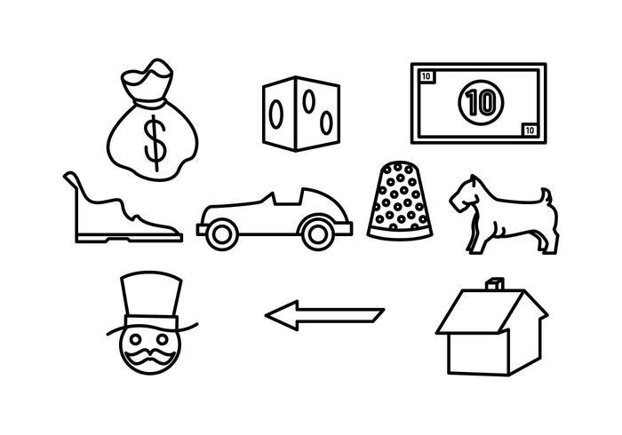 Free Monopoly Vector
