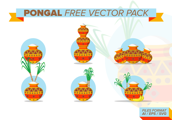 Pongal Vector Pack