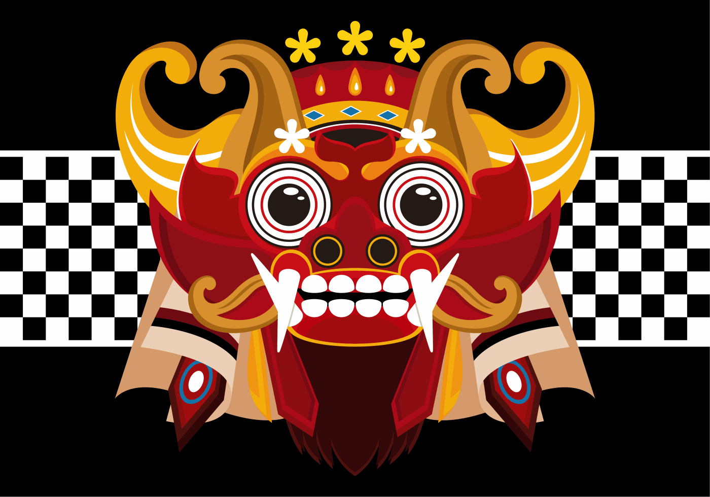 Barong Vector 338 Free Downloads