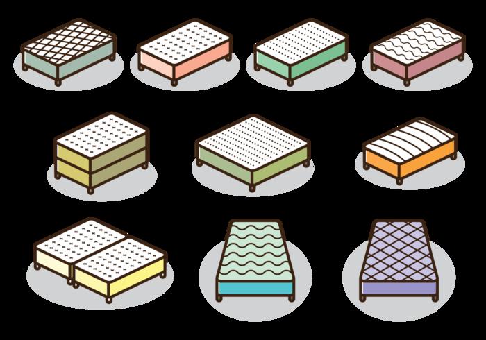 ic nes de vecteur de matelas t l chargez de l 39 art des graphiques et des images vectoriels. Black Bedroom Furniture Sets. Home Design Ideas