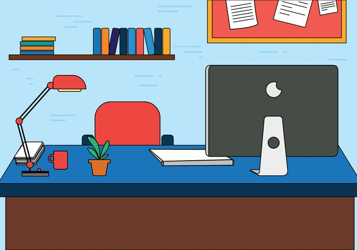 Free Designers Workspace Vector