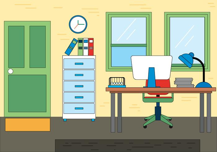 Free Office Vector Design