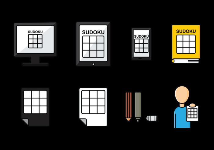 Icônes de Sudoku