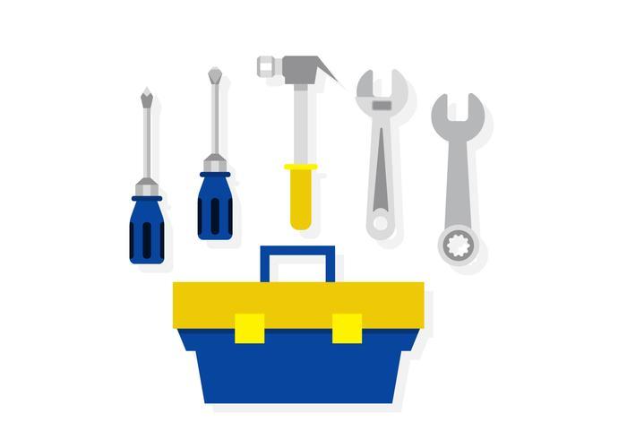 Caja de herramientas de vector