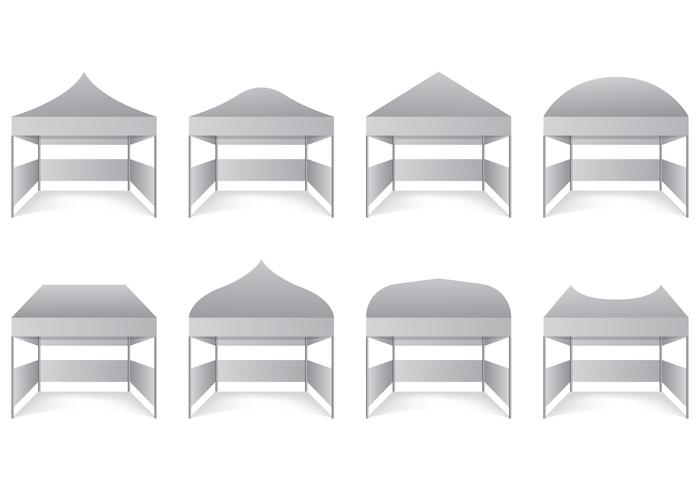 Set Of Gazebo Vectors