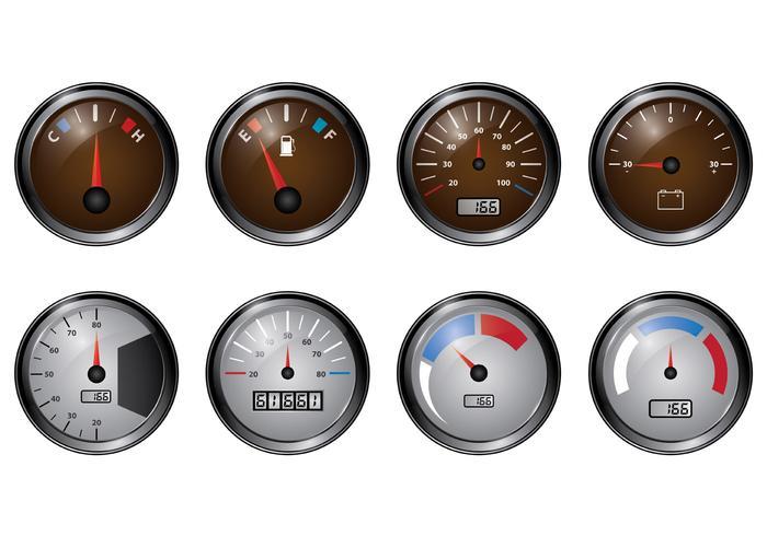 Set Of Tachometer Vectors