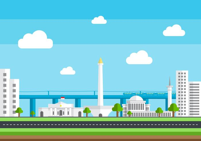 Monas Vector Landschap