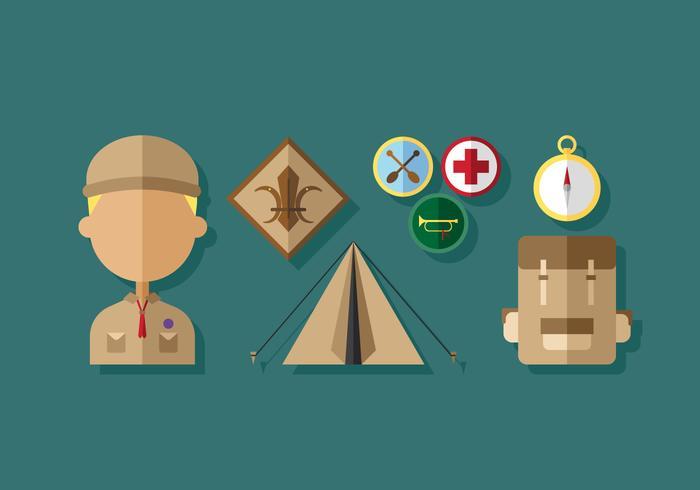 Vector Boy Scouts