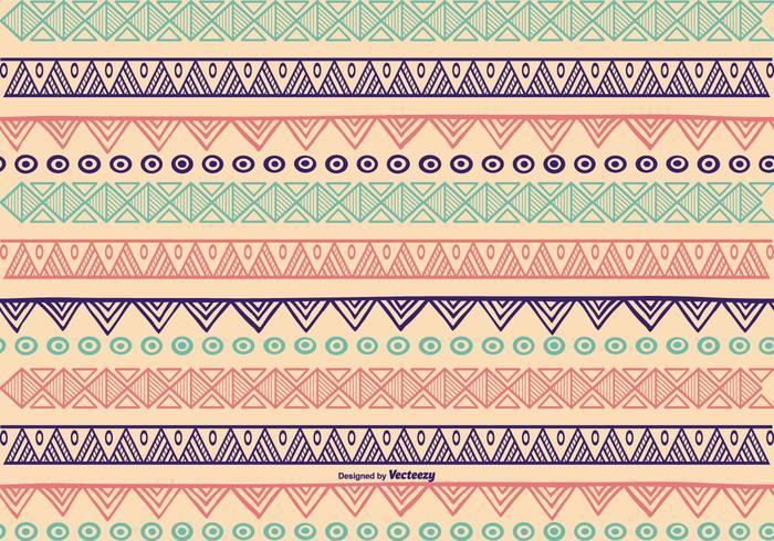 Handgezeichneten Muster Hintergrund