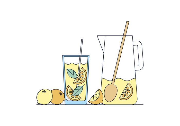 Free Lemonade Vector
