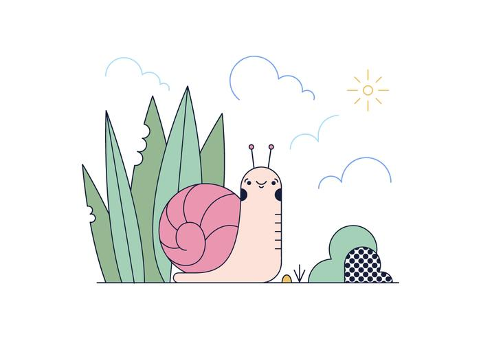 Free Snail Vector
