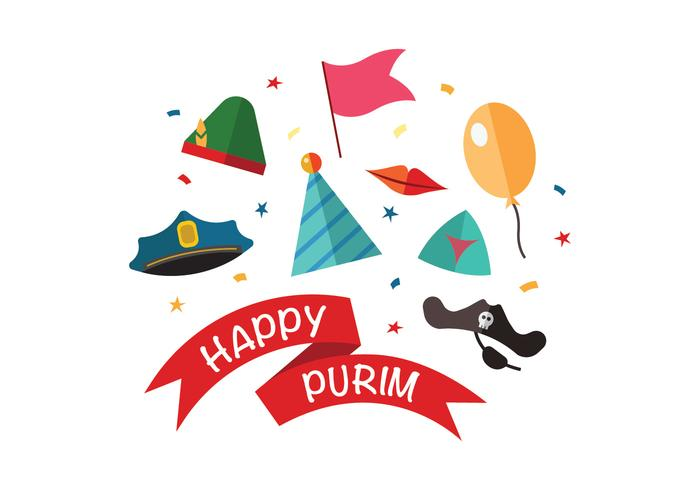 Happy Purim Vectors