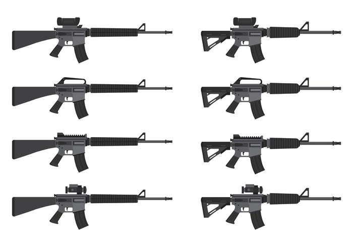 Vector Of AR15
