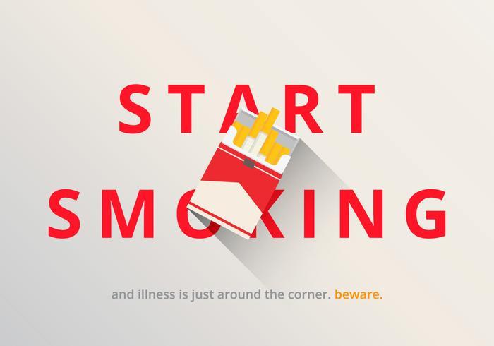 Illustration de paquet de cigarette