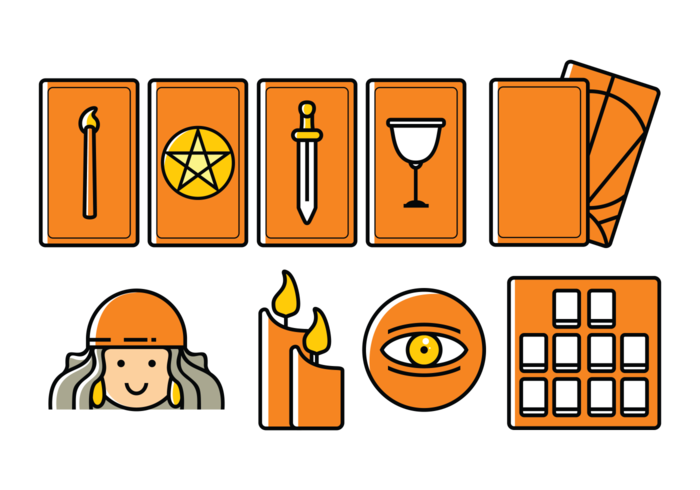 Vector Tarot Icons
