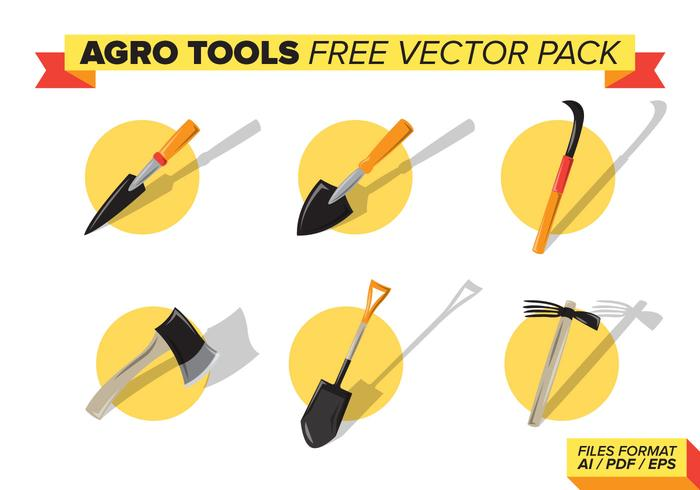Agroo Tools Gratis Vector Pack