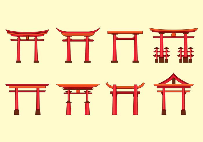 Torii Vector Icons - Download Free Vector Art, Stock ...
