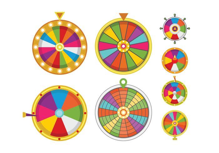 Wheel of Fortune Vectors